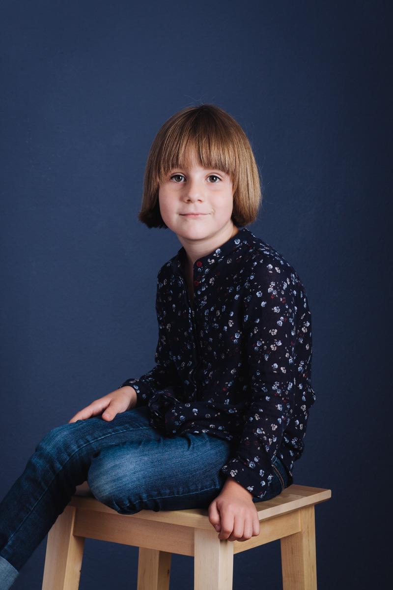 Culte du Beau Fotostudio Kinder Portrait Sofja