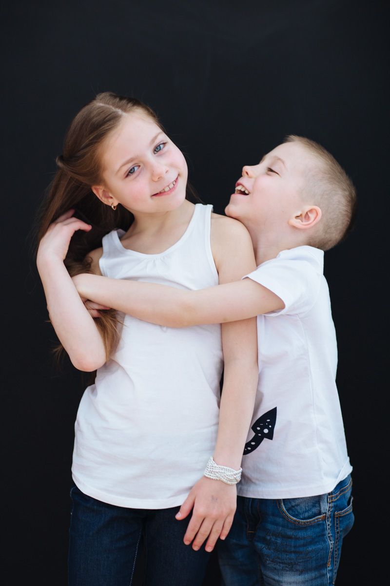 Culte du Beau Fotostudio Kinder Portrait Ivan und Anna